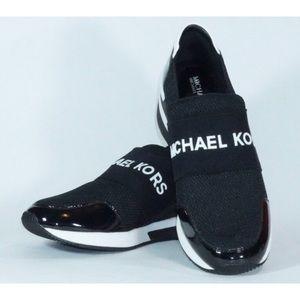 Michael Kors Slip-On Logo Sneakers 8.5